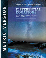 Differential Equations with Boundary Value Problems, International Metric Edition