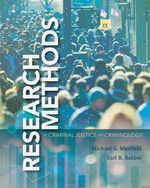 Research Methods in Criminal Justice and Criminology, 8e
