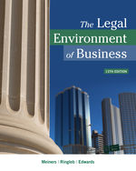 The Legal Environment of Business, 13e