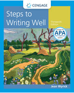 Steps to Writing Well with APA 7e Updates