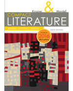 COMPACT Literature: Reading, Reacting, Writing, 2016 MLA Update, 9e