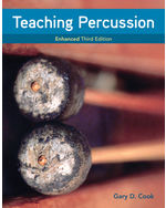 Teaching Percussion, Enhanced, Spiral bound Version