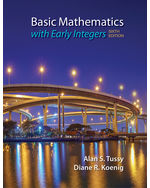 Basic Mathematics for College Students with Early Integers, 6e