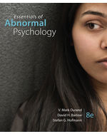 Essentials of Abnormal Psychology, 8e