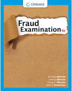 Fraud Examination, 6e
