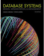 Database Systems: Design, Implementation, & Management, 13e