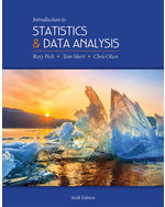 Introduction to Statistics and Data Analysis, 6e