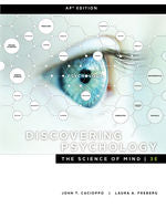 Discovering Psychology: