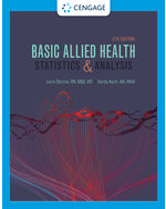 Basic Allied Health Statistics and Analysis, Spiral bound
