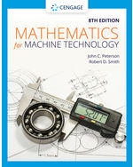 Mathematics for Machine Technology, 8e