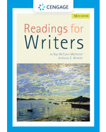 Readings for Writers, 16e