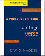 Cengage Advantage Books: Pocketful of Poems: Vintage Verse Vol. II