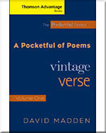 Cengage Advantage Books: A Pocketful of Poems: Vintage Verse, Volume I, Revised Edition