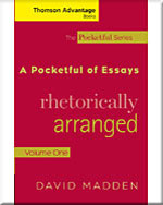 Cengage Advantage Books: A Pocketful of Essays: Volume I, Rhetorically Arranged, Revised Edition