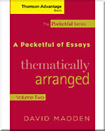 Cengage Advantage Books: A Pocketful of Essays: Volume II, Thematically Arranged, Revised Edition