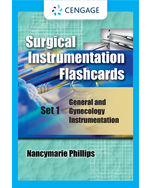 Surgical Instrumentation Flashcards Set 1: General and Gynecological Instrumentation