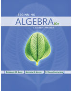 Beginning Algebra: A Guided Approach
