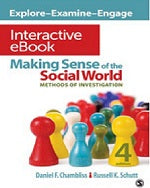 Making Sense of the Social world Interactive eBook Instruction