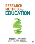 Research Methods for Education, 1e