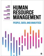 Human Resource Management: People, Data, and Analytics
