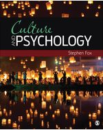 Culture and Psychology, 1e