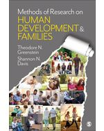 Methods of Research on Human Development and Families