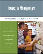 Issues in Management: Articles from SAGE Business Researcher