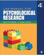 Lab Manual for Psychological Research