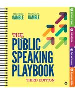 The Public Speaking Playbook, 3e