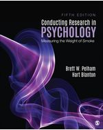 Conducting Research in Psychology, 5e
