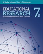 Educational Research: Quantita-tive, Qualitative, and Mixed Approaches, 7e