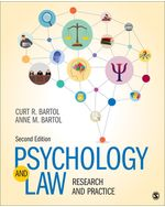 Psychology and Law: Research and Practice