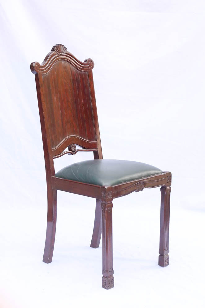 17th Century Tall Back Dining Chairs