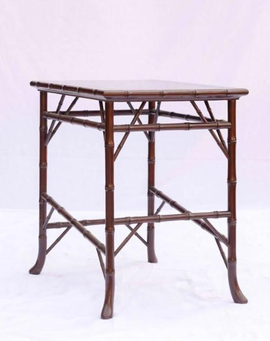 Queen Anne Bamboo Table