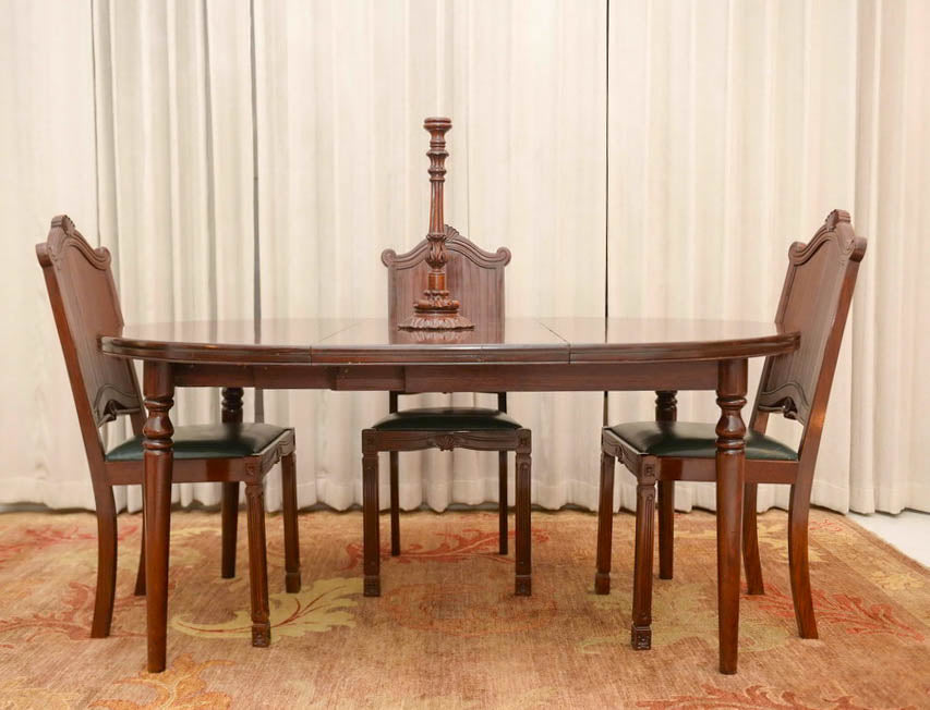 17th Century Chair and Table