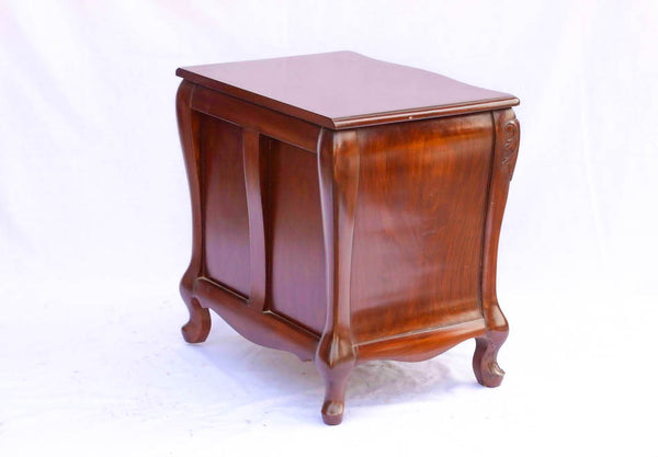Carved Queen Ann Side Table