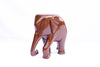 Hand-Carved Wooden Elephant