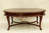 Queen Anne Round Coffee Table