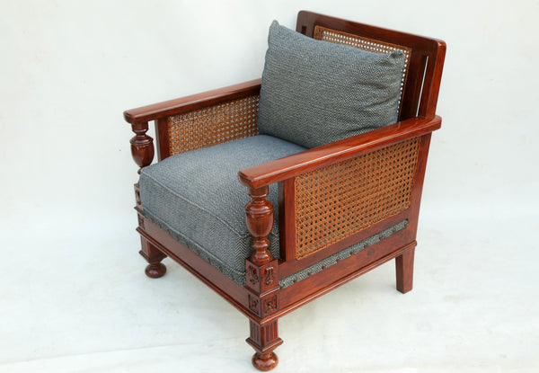 William & Mary Cane Sofa