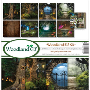 "REMINISCE 12""X12"" COLLECTION PACK WOODLAND ELF (IN STOCK)"