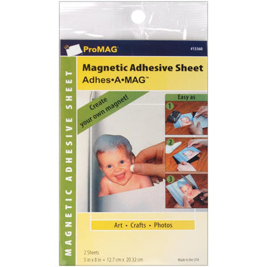 PROMAG ADHESIVE MAGNETIC SHEETS 5