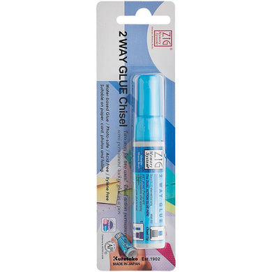 ZIG 2 WAY GLUE PEN CHISEL TIP (HAS TO BE ORDERED)