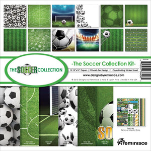 "REMINISCE 12""X12"" COLLECTION PACK SOCCER (IN STOCK)"