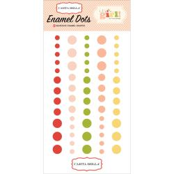 CARTA BELLA IT'S A GIRL ENAMEL DOTS (CLEARANCE)