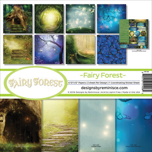 "REMINISCE 12""X12"" COLLECTION PACK FAIRY FOREST (HAS TO BE ORDERED)"