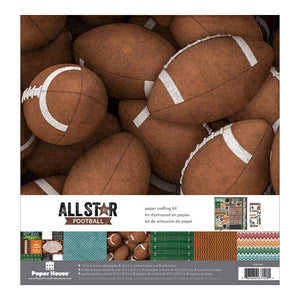 "PAPER HOUSE 12X12"" COLLECTION PACK FOOTBALL (HAS TO BE ORDERED)"