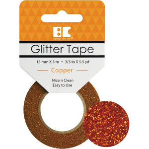 BEST CREATIONS GLITTER TAPE COPPER (HAS TO BE ORDERED)
