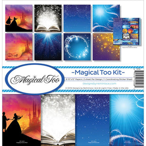 "REMINISCE 12""X12"" COLLECTION PACK MAGICAL TOO (HAS TO BE ORDERED)"
