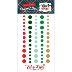 ECHO PARK DECK THE HALLS ENAMEL DOTS (CLEARANCE)