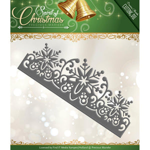 FIND IT TRADING PRECIOUS MARIEKE METAL DIE CUT SNOWFLAKE BORDER (IN STOCK)